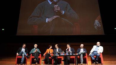 Dialoghi dell'Espresso, tappa a Torino<br /> Doppio incontro con Eugenio Scalfari<br /> e il guardasigilli Andrea Orlando