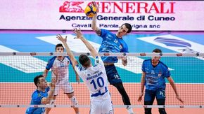 Volley A2 maschile, ecco il calendario 2021-2022 che vede impegnati Cuneo e Mondovì