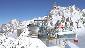 Sul Monte Bianco La Nuova Funivia Br Delle Meraviglie La
