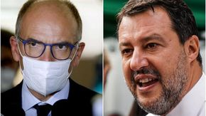 """Salvini: """"Ai vaccini ci sono anche reazioni avverse, lo stato garantisca"""". Letta: """"Basta ambiguità"""""""