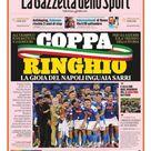 Calciatori Panini, figurina speciale per trionfo Napoli in coppa Italia