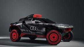 Audi RS Q e-tron, ecco il bolide che correrà alla Dakar 2022