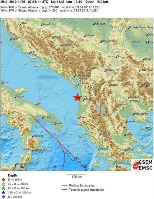 Cartina Puglia Albania.Terremoto In Albania Forti Scosse Continue La Piu Colpita Durazzo Almeno 23 Morti E 650 Feriti La Repubblica