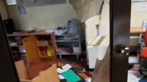 Devastati gli uffici della Circoscrizione di Aurora a Torino