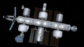 Jeff Bezos costruirà una stazione spaziale in orbita attorno alla terra con laboratori e un hotel