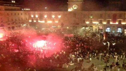Italia campione d'Europa: caroselli e festa in piazza a Parma